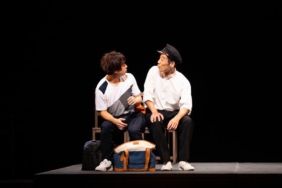 青年劇場「きみはいくさに征ったけれど」の舞台
